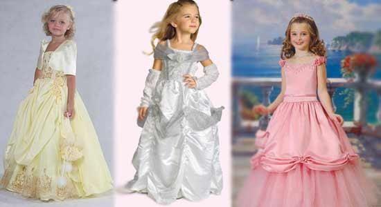 Детские нарядные платье для девочек