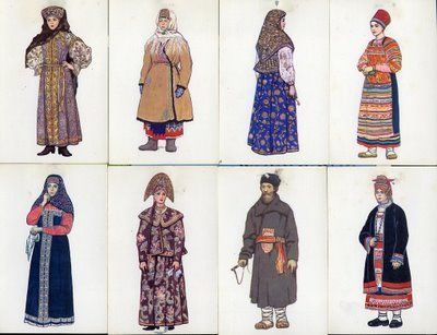This is Human geography because this is Russian clothing