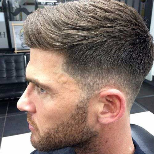 Men Short Haircut Ideas for Thick Hair