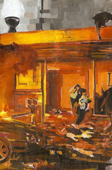 Benjamin Ferval website #painting #peinture #art