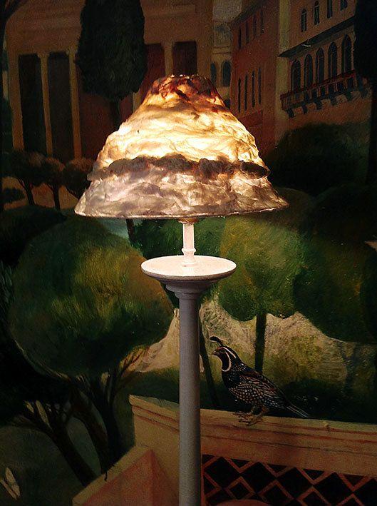 Lampshade/Lampenkapje Coupe fossile uit de door MargrietThissen