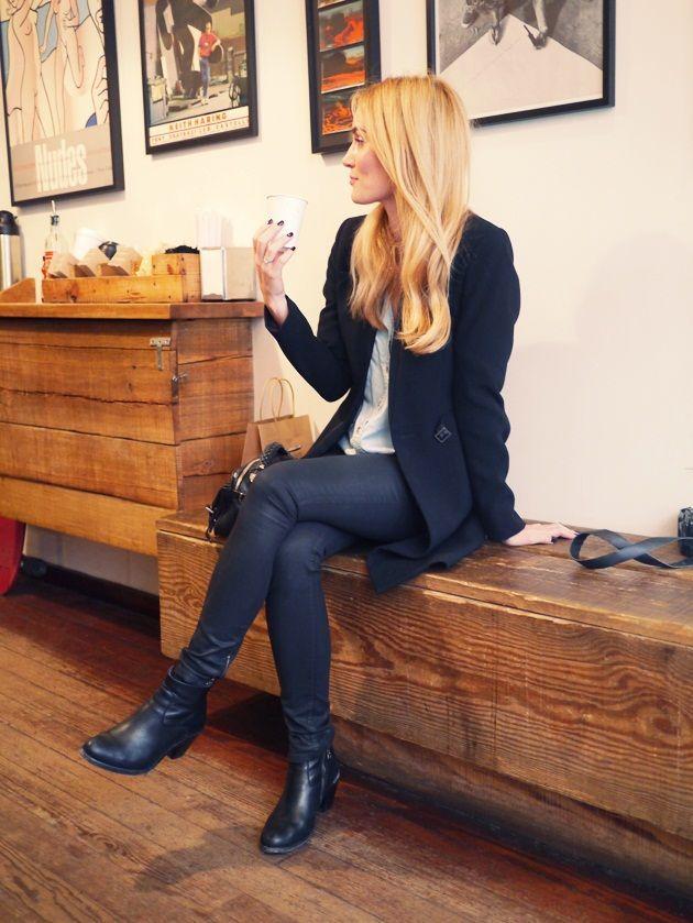 Jeg har funnet to fantastiske kaffebarer i NY. Den ene er La Columbe og den andre ligger i Crosby Street inne i surf & skate butikken Saturdays Surf NYC. Fantastisk god kaffe og en deilig stemning. På varme dager kan du henge ut i bakgården i butikken eller så kan du hvile beina like ved