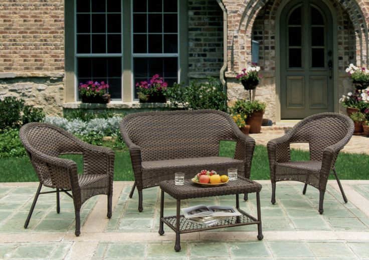 Earth Collection Casual Indoor Outdoor Furniture Set | eBay