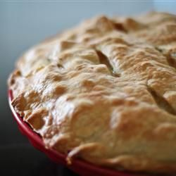 Turkey Pot Pie - Great way to use up the leftover turkey :)