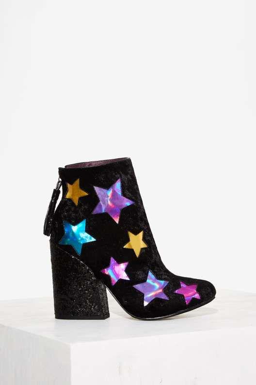 YRU Jem Velvet Boot - Boots + Booties