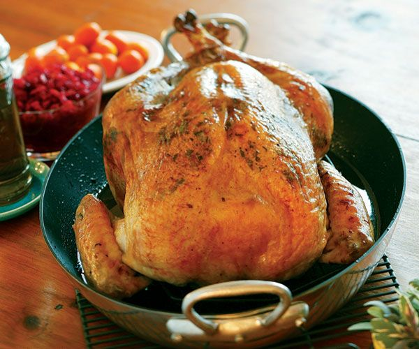 Brined Roast Turkey with Sage Butter Rub // Recipe: www.finecooking.com/recipes/brined_roast_turkey_with_sage_butter.aspx?utm_source=social_medium=pinterest_term=no_offer_content=fcrecipe_campaign=fc_social
