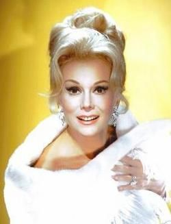EVA GABOR 02-11-1919 til 07-04-1995 (76) HUGARIAN BORN - AMERICAN SOCIALITE, ACTRESS, COMEDIENNE, SINGER and BUSINESS WOMAN.