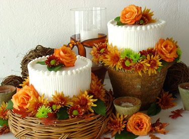 33 best Birthday cakesfall images on Pinterest Fall birthday cakes