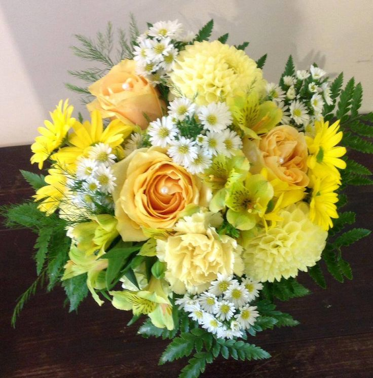 A really fun summer flower bouquet. Perfect to brighten anyone's day.