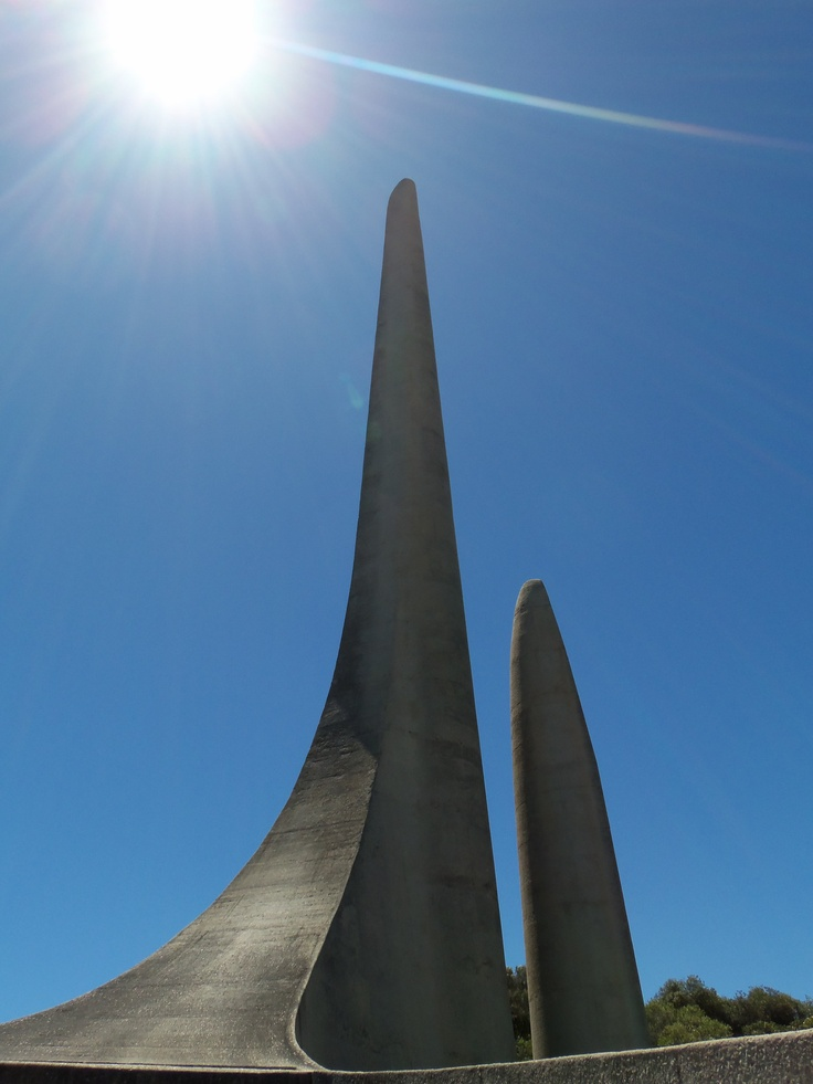 Afrikaanse Taalmonument (Afrikaans Language Monument) in Paarl, Western Cape Province, South Africa.