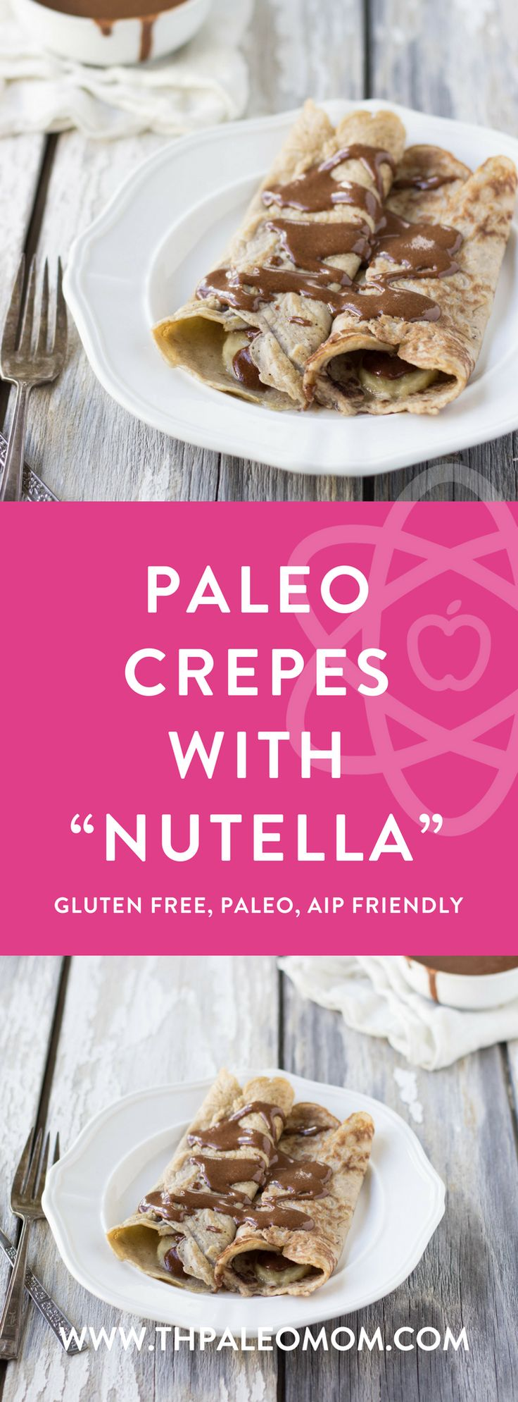 Paleo Crepes with Homemade Nutella   The Paleo Mom