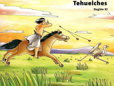 conozcamos chile: Dibujos de pueblos originario de Chile para niños