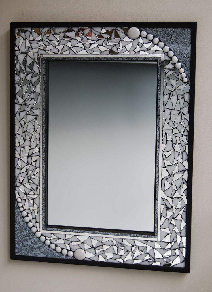 mosaic mirror. $170.00, via Etsy.