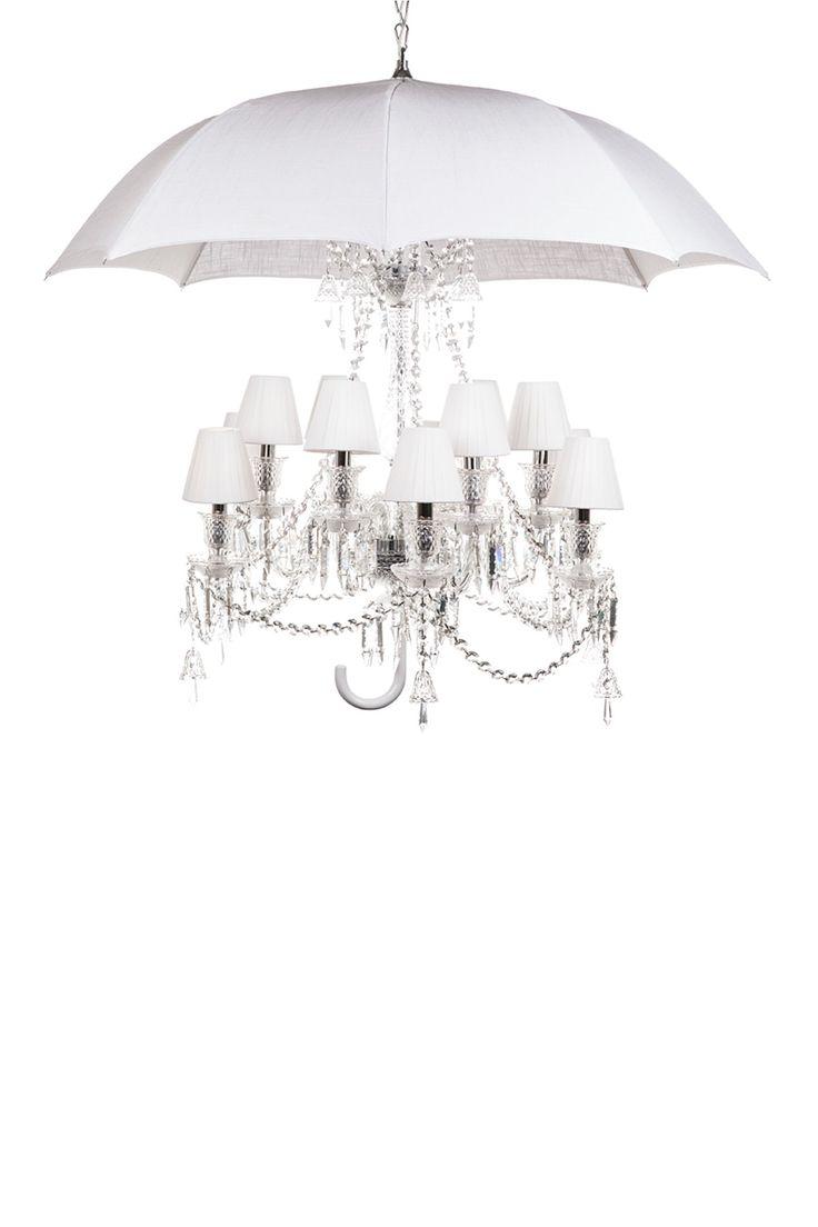 529 best lighting images on pinterest chandeliers pendant lamps the umbrella white chandelier lamp arubaitofo Images