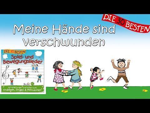 Meine Hände sind verschwunden - Die besten Spiel - und Bewegungslieder || Kinderlieder - YouTube
