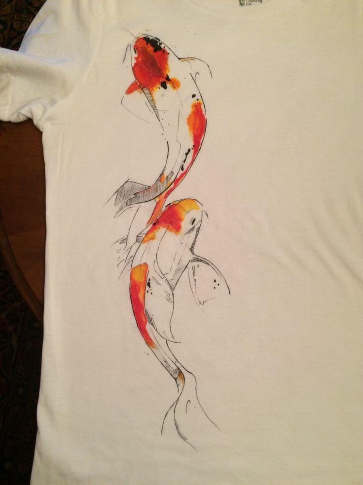 KoiCarp on t-shirt