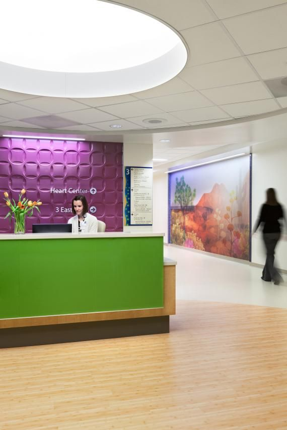 PHOTO TOUR: Riley Hospital for Children | Healthcare Design --- The heart center flexes to meet patient needs (i.e., more room for CICU, cardiac medical/surgical, PICU—all  based on need). Photo: Susan Fleck
