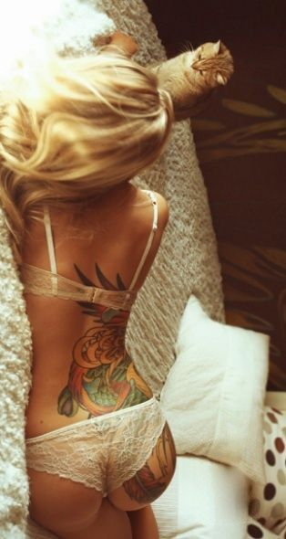 Ca c'est pour que tu aies une idée plus ou moins du placement de mon tattoo