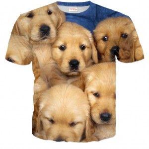 SZCZENIAKI Koszulka Tshirt Full Print