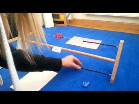 Gleichungen lösen mit dem Gleichungsrahmen - YouTube