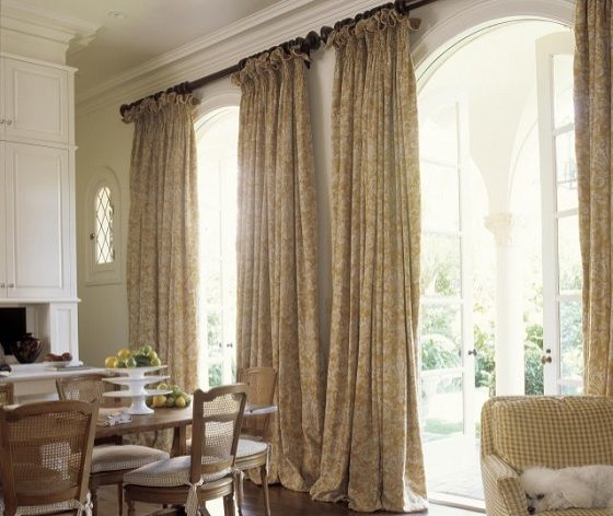 French Doorwindow Treatments French Door Curtains