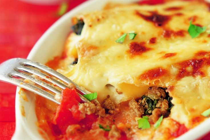 Cannelloni in a Creamy Parmesan Sauce - Make delicious beef recipes easy, for any occasion