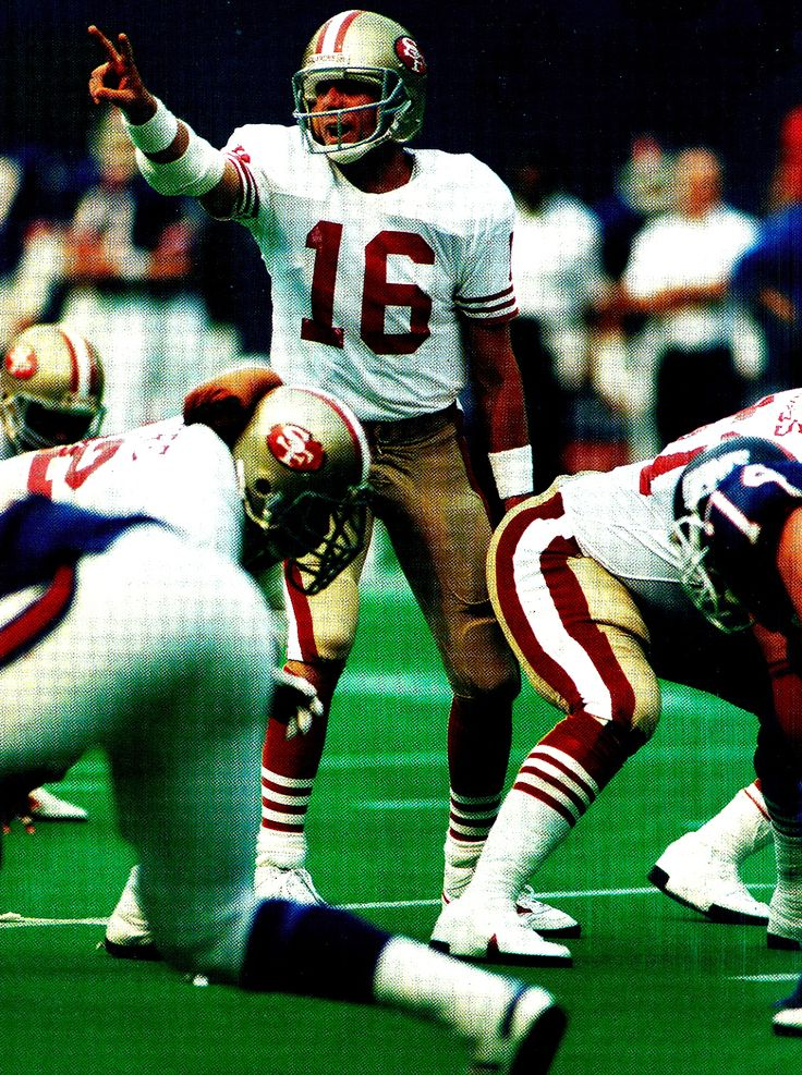 Joe Montana for the San Francisco 49ers. He was the best Quarterback of all time. ( At one point he was on the Kansas City Chiefs)