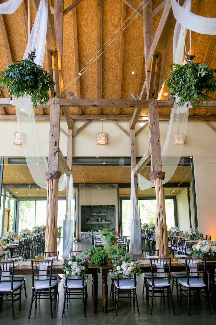 Rustic Chic Texas Wedding From Pearl Events Austin from The Nichols - wedding reception idea