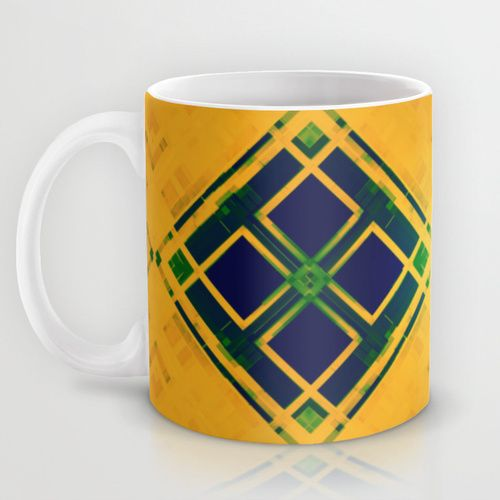 Yellow Mug by Raluca Ag | Society6