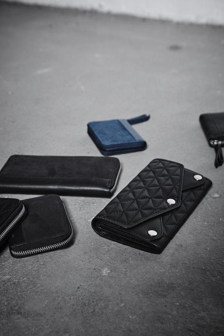Leather wallets by Markberg