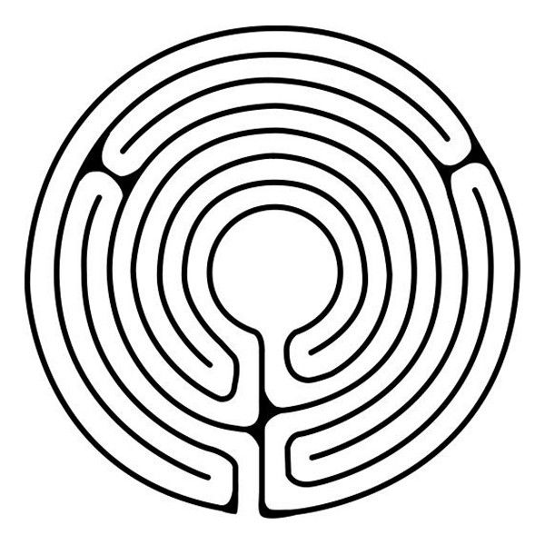 It's just an image of Witty Finger Labyrinth Printable