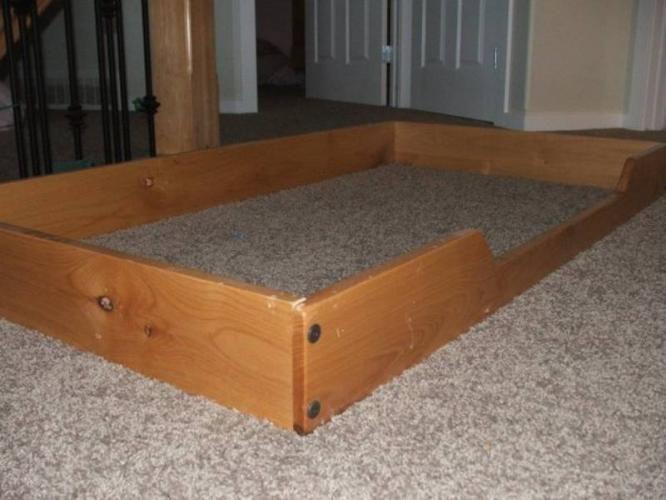 The 25 best Floor bed frame ideas on Pinterest Toddler floor