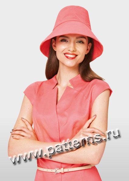 Выкройка Burda (Бурда) 7117 — Женские шляпы ретро стиля (снята с производства)