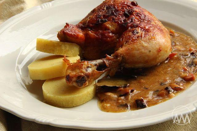 V kuchyni vždy otevřeno ...: Kuře a la bažant