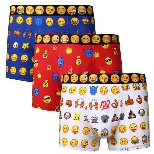 Men's Emoji Novelty Boxers