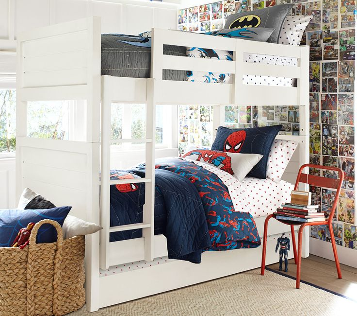 1000 ideas about boy bunk beds on pinterest bunk beds for Boys loft bedroom ideas