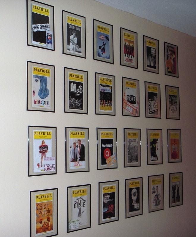 10 best Playbill Displays images on Pinterest | Playbill display ...