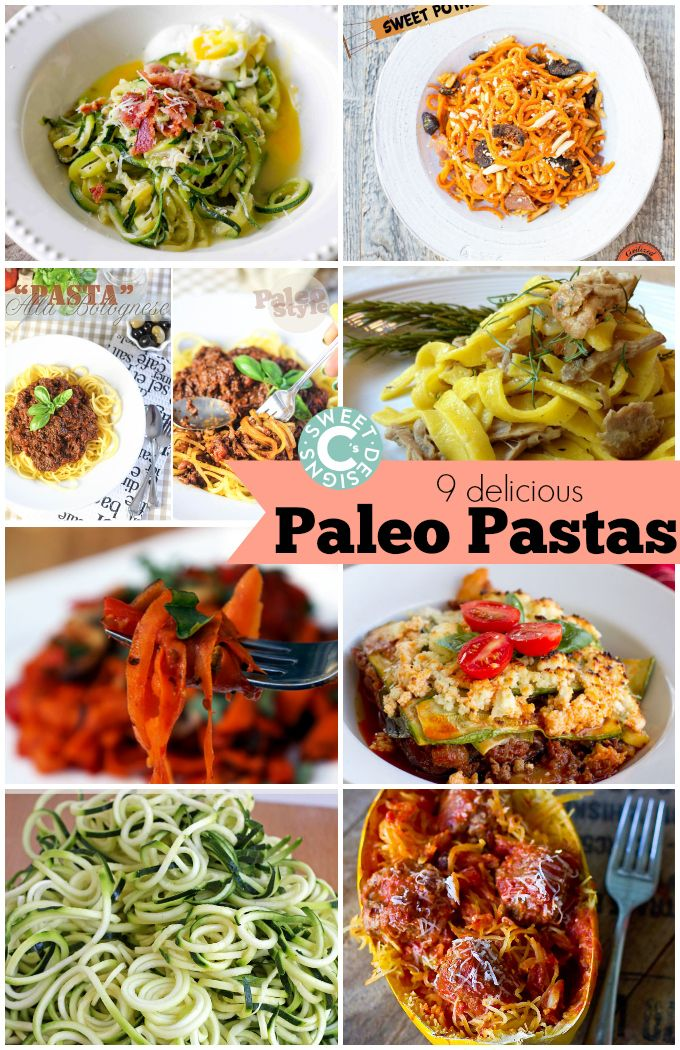 9 delicious paleo pastas- the tastes you crave without breaking a low carb gluten free diet!