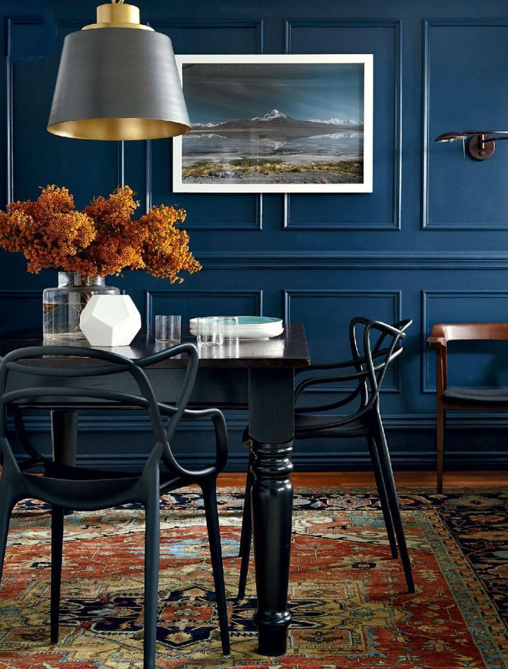 How To Decorate Dramatic Dining Rooms With Smart Dining