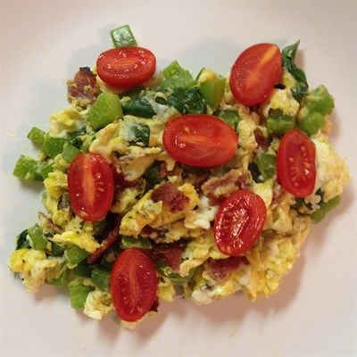 Easy protein-packed breakfast: Egg Scramble