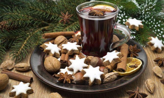 Receta de Vino caliente especiado de Navidad