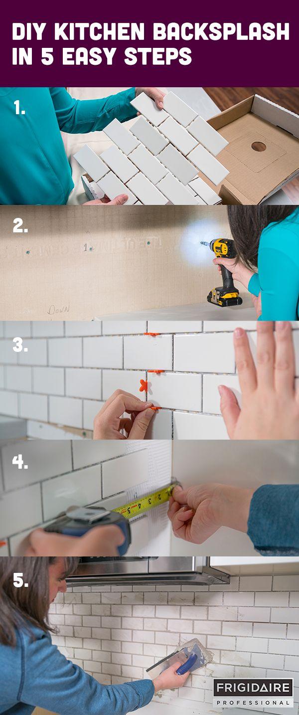 Best 20 easy backsplash ideas on pinterest peel stick for Easy diy kitchen backsplash ideas