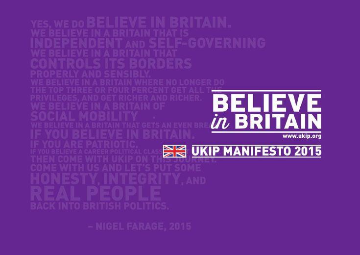 ISSUU - The UKIP Manifesto 2015 by UKIP