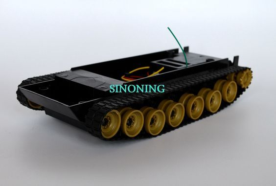 Cheap small Smart Robot Tank Chassis Tracking car DIY for Arduino SCM motor voltage:3v-7.4v model:SN700 length:22cm width:10.5cm high:4.5cm Design and Made by