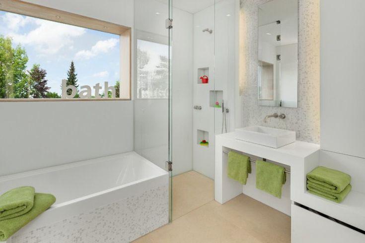 Ванная в стиле минимализм - 12