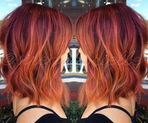 Different Hair Colors And Styles: Best 25+ Red Hair Model Ideas On Pinterest