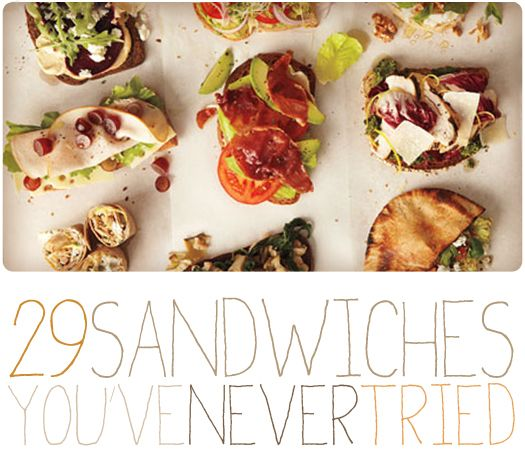 More Design Please - MoreDesignPlease - 29 Sandwiches You ...