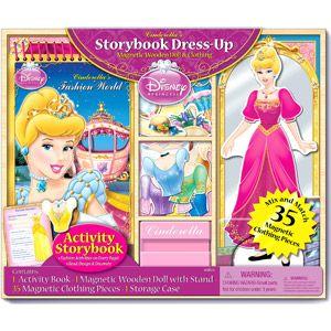 Disney Princess Cinderella's Storybook Dress-Up Magnetic ...