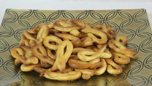 """Taralli with Fennel Seeds from """"Cooking with Nonna"""""""