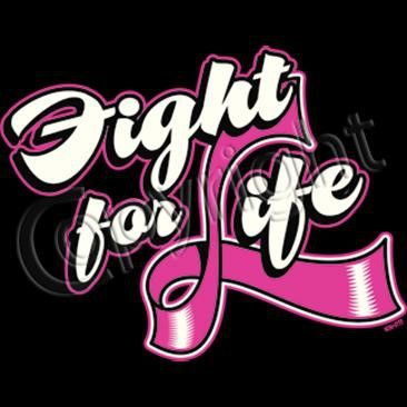 Fight for Life Tee Shirt, Cotton and poly cotton blends.   Contact Kristy for more information  859-6289592 kristy.rightsideout@aol.com www.rightsideoutshirts.com Facebook: https://www.facebook.com/pages/Right-Side-Out-Tee-Shirt-Company/170037256483504
